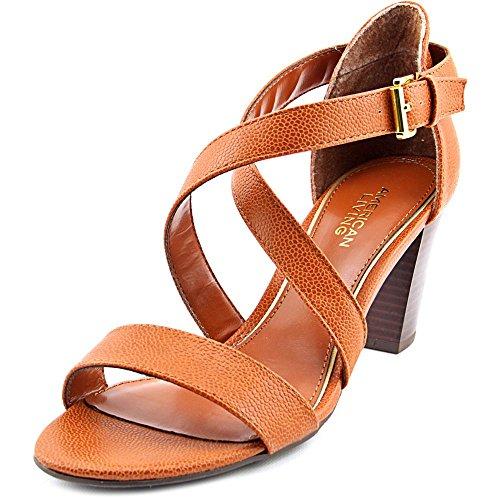 Donne Americane Viventi Londra Open Toe Occasioni Speciali Sandali Con Cinturino Allabbronzatura