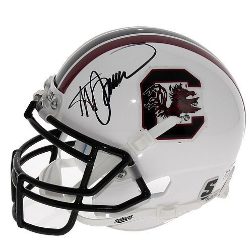 Steve Spurrier Autographed Signed South Carolina Gamecocks Schutt Mini Helmet - Certified Authentic