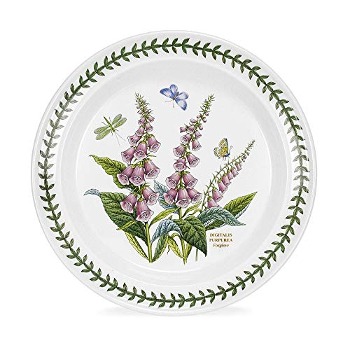 Plate Garden Collector - Portmeirion Botanic Garden Digitalis Purpurea Foxglove 10-in Dinner Plate
