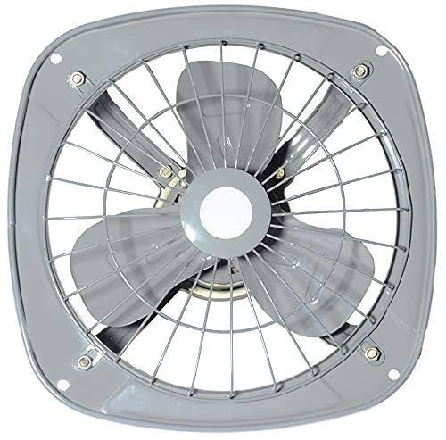 Exquisite Export International Ventilation Exhaust Fan High Speed Metal Body Reverse & Forward Air Flow Function For Kitchens,Bathroom,Home,Hotels,Restaurant With Complimentary E-Book (225mm = 9″)