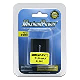 Maximal Power DB SON NP-FV70 2100mAh Battery for Sony NP-FV70, Sony NP-FH70 Camcorder