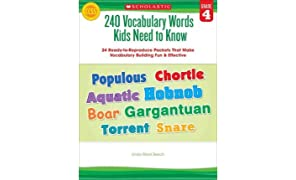 240 Vocabulary Words Kids Need to Know: Grade 4: 24 Ready-To-Reproduce Packets That Make Vocabulary Building Fun & Effective (Paperback) - Common