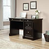 Sauder 420786 Bleeker Street Computer Desk, Obsidian Oak