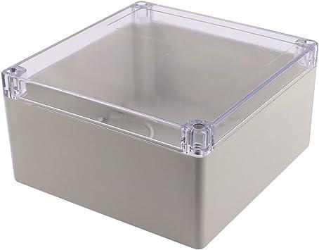 X-Dr 192 x 188 x 100 mm Cubierta transparente Caja de conexiones impermeable Caja de caja sellada (15a723ef6fea67d60700a7142dc4ef00): Amazon.es: Bricolaje y herramientas