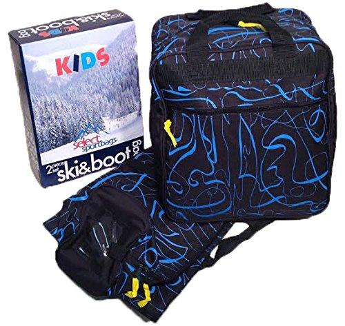Select Sportbags Kids Ski Bag and Boot Bag Set - Blue ()