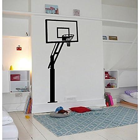 TATOUTEX Stickers - Cesta de Baloncesto - Burdeos, L 30 cm x H 75 ...