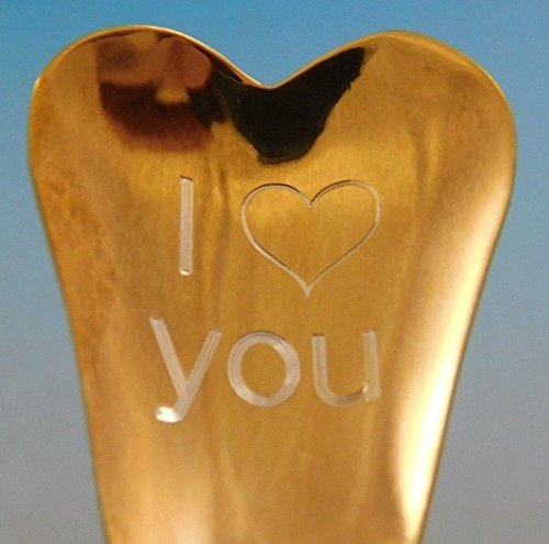 (Etruscan by Gorham Sterling Silver Conversation Heart Spoon Valentines Day Gift)