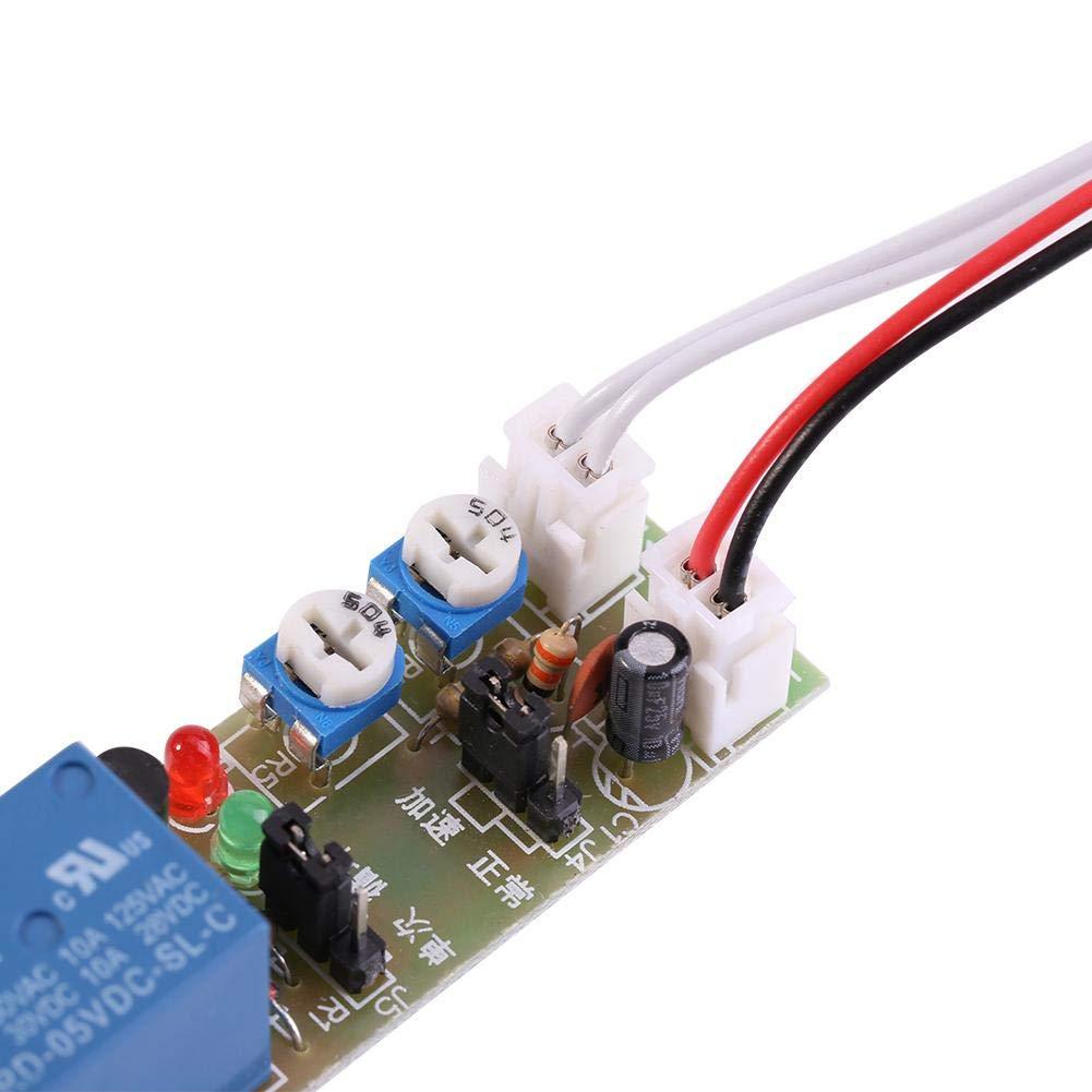 DC5V,0-15min 1pc Einstellbare Cycle Timer Verz/ögerung Ein//Aus-Schalter Relaismodul DC 5V//12V//24V 0-15min//0-60min Keyren Timer Modul Schalter