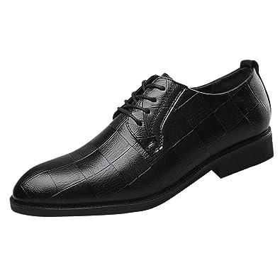 san francisco c074c 2d411 Yogogo Herren Schuhe Business Lederschuhe Spitzschuh Anzug ...