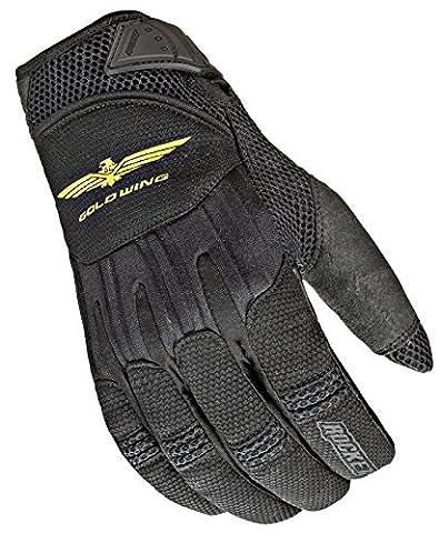 Joe Rocket Goldwing Skyline Men's Motorcycle Riding Gloves (Black/Black, X-Large) - Textile Motorcycle Gloves