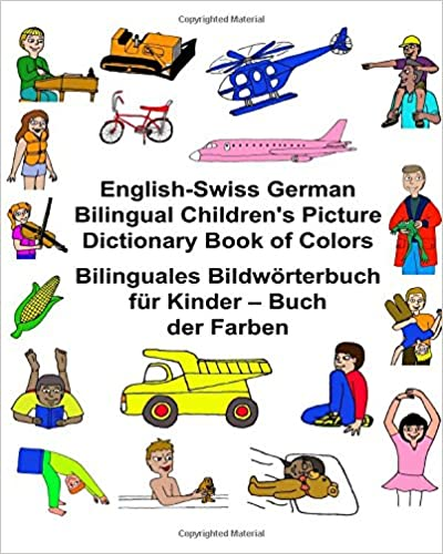 English-Swiss German Bilingual Children\'s Picture Dictionary Book of ...
