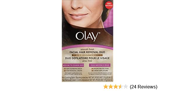 Amazon.com : Olay Smooth Finish Hair Removal Duo Medium To Coarse Hair : Beauty