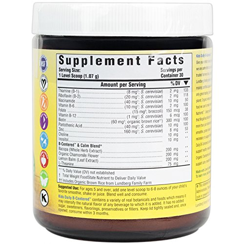 MegaFood - Kids Daily B-Centered Booster, 30 Servings (1.1 oz)
