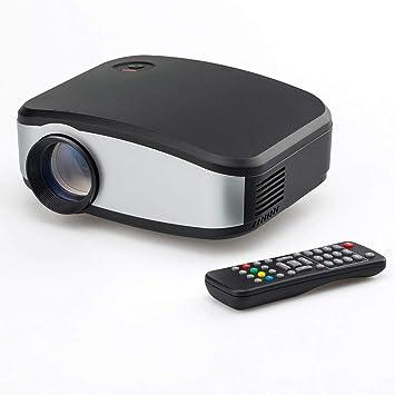Mini proyector portátil LED y LCD Compatible con 720p 1080p Audio ...