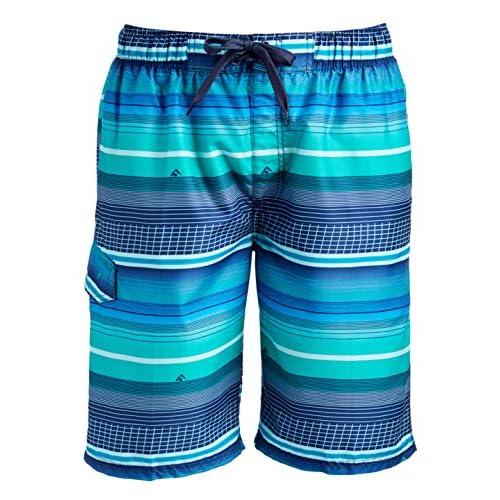 Mens Swim Trunks Ocean Waves Convenient Beach Shorts