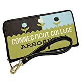 Wallet Clutch US Gardens Connecticut College Arboretum - CT with Removable Wristlet Strap Neonblond