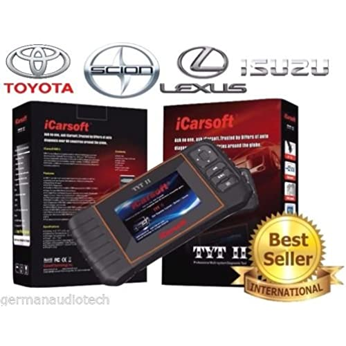 Buy New Version iCARSOFT TYTII for TOYOTA LEXUS ISUZU SCION OBD2 DIAGNOSTIC SCANNER TOOL ERASE FAULT CODES SERVICE RESET BEST #1