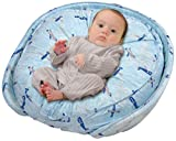 Leachco Podster Play Pack Combined Infant Lounger & Play Pa - Skyplanes Blue by Leachco