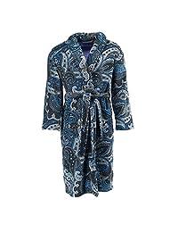 Robert Graham Men's Chilcott Paisley Plush Fleece Robe