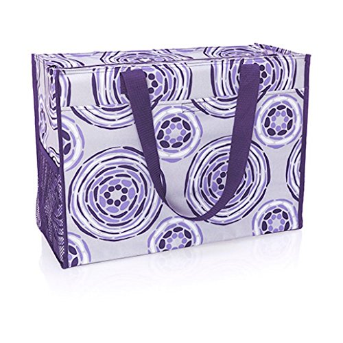 Deluxe Organizing Utility Tote In Geo Pop
