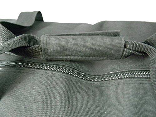 Heavy Duty Cargo Duffel Large Sport Gear Drum Set Equipment Hardware Travel Bag Rooftop Rack Bag 36 Inch Black Medium Traveling Bags by iHIM (Image #3)