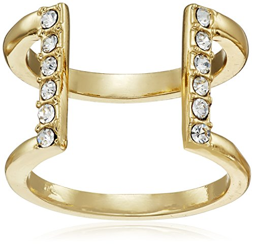 t-tahari-essentials-gold-crystal-open-band-ring-size-7