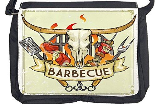 Borsa Tracolla Alimentare Ristorante Barbecue Stampato