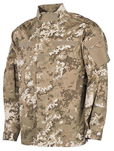 USA chaqueta de campo, ACU, Acanalado - Nightcamo, XL Vegetato Desert