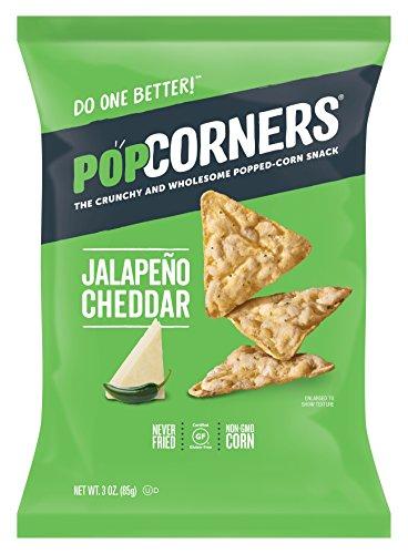 Popcorners Corn Chips Jalapeno Cheddar 7 Oz. Bag (Popcorner Jalapeno)