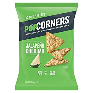Popcorners Corn Chips Jalapeno Cheddar 7 Oz. Bag