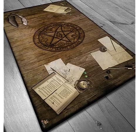 Tapete de Neopreno 150x90 cm - Mesa Lovecraft: Amazon.es: Juguetes y juegos
