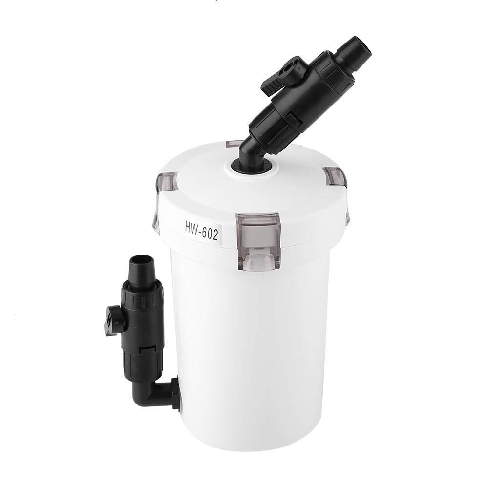 Aquarium Fish Tank External Canister Filter with Pump Table Mute Filters Bucket HW-602 HW-603 HW-602B HW-603B HW-603B,220V