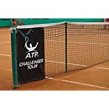Home Comforts Peel-n-Stick Poster of Clay Court Challenger Tour Net Tennis Court ATP Poster Print 24x16 Adhesive Sticker Poster Print