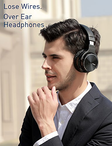 COWIN E7 PRO [Upgraded] Active Noise Cancelling Headphones Bluetooth Headphones with Microphone/Deep Bass Wireless Headphones Over Ear 30H Playtime for Travel/Work/TV/Computer/Cellphone - Black by cowin (Image #3)