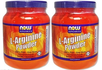 L-アルギニン (1000g) 2個セット 海外直送品 [並行輸入品] B018VKENCG