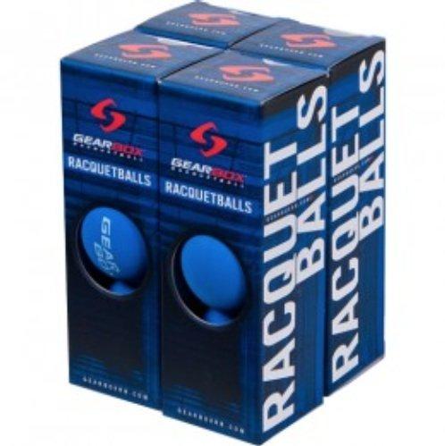 Caja de cambios Racquetballs - azul 4 cajas de 3 bolas ...