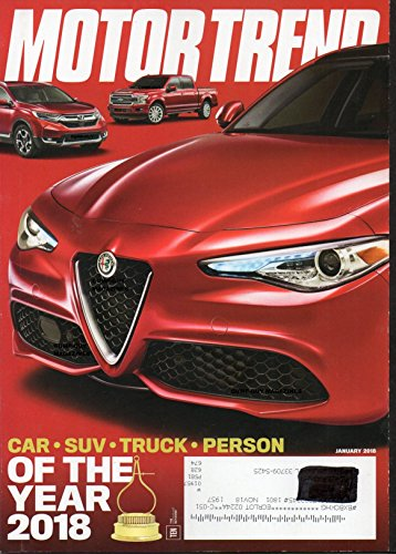 ALL-NEW 2018 CHEVROLET TRAVERSE Tesla Model 3 Long Range MAZDA VISION COUPE & KAI CONCEPTS OF MOTOR TREND MAGAZINE Audi Q5 BMW X4 Buick Enclave Avenir CAR SUV TRUCK & PERSON OF THE YEAR