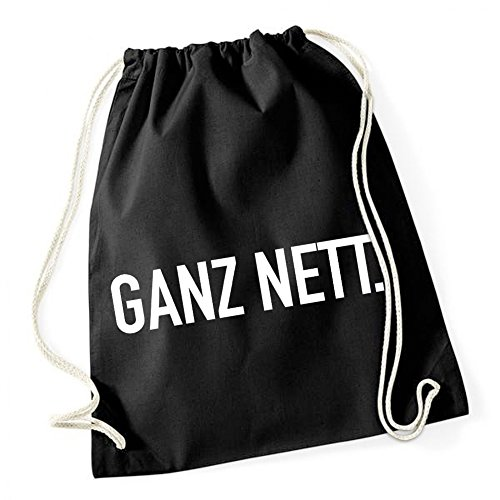 Ganz Nett Gymsack Black Certified Freak