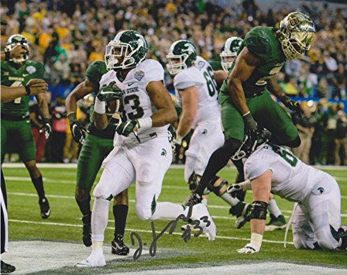 (Jeremy Langford Michigan State Spartans NCAA 8x10