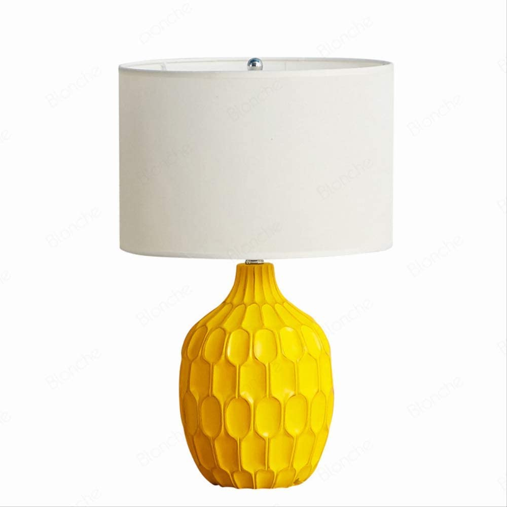 Lámparas de mesa LED amarillas modernas Luces de escritorio de ...