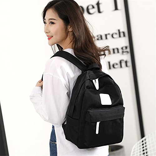 Houyediyi Backpack Black Backpacker 14 Woman Gray 27 37cm ZZqxrAn