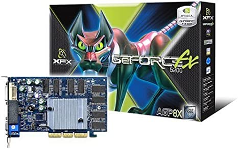 XFX NVIDIA GeForce FX 5200 128MB AGP Graphics Card
