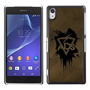 GagaDesign Phone Accessories: Hard Case Cover for Sony Xperia Z2 - ADS Lightning by mcsharks