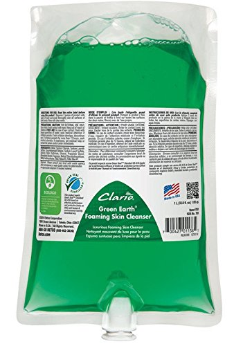 Betco Clario Green Earth Foaming Skin Cleanser 78129-00 6-1000 mL (Green Hand Cleanser)
