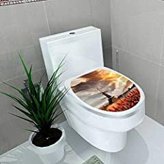 "Features: Size: W13"" x L16"" High quality! 100% Brand new!  Material: VINYL and removable Environmental protection and waterproof.  Description: You can easily become decoration designer.  Suitable for most flat smooth surfaces without leaving..."