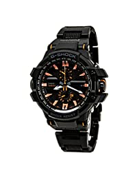 Casio G-Shock GWA1000FC-1A4CR Watch G-Aviation Classic Mens - Black Dial Steel Case Quartz Movement