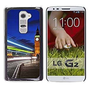 Graphic4You London UK Big Ben Design Hard Case Cover for LG G2 by ruishername