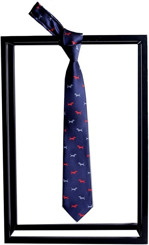 Neckchiefs Corbata para Hombre Diseño Italiano de diseño de Perro ...