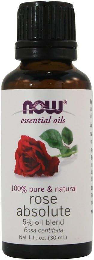 Now Foods: Rose Absolut 5% Blend Oil, 1 oz (2 pack)