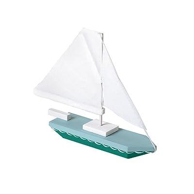 Darice 9169-04 Wood Sailboat Model Kit: Arts, Crafts & Sewing